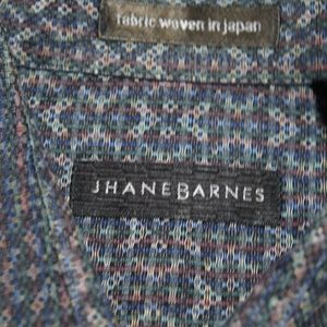 Mens Jhane Barnes LS Button Front Dress Casual